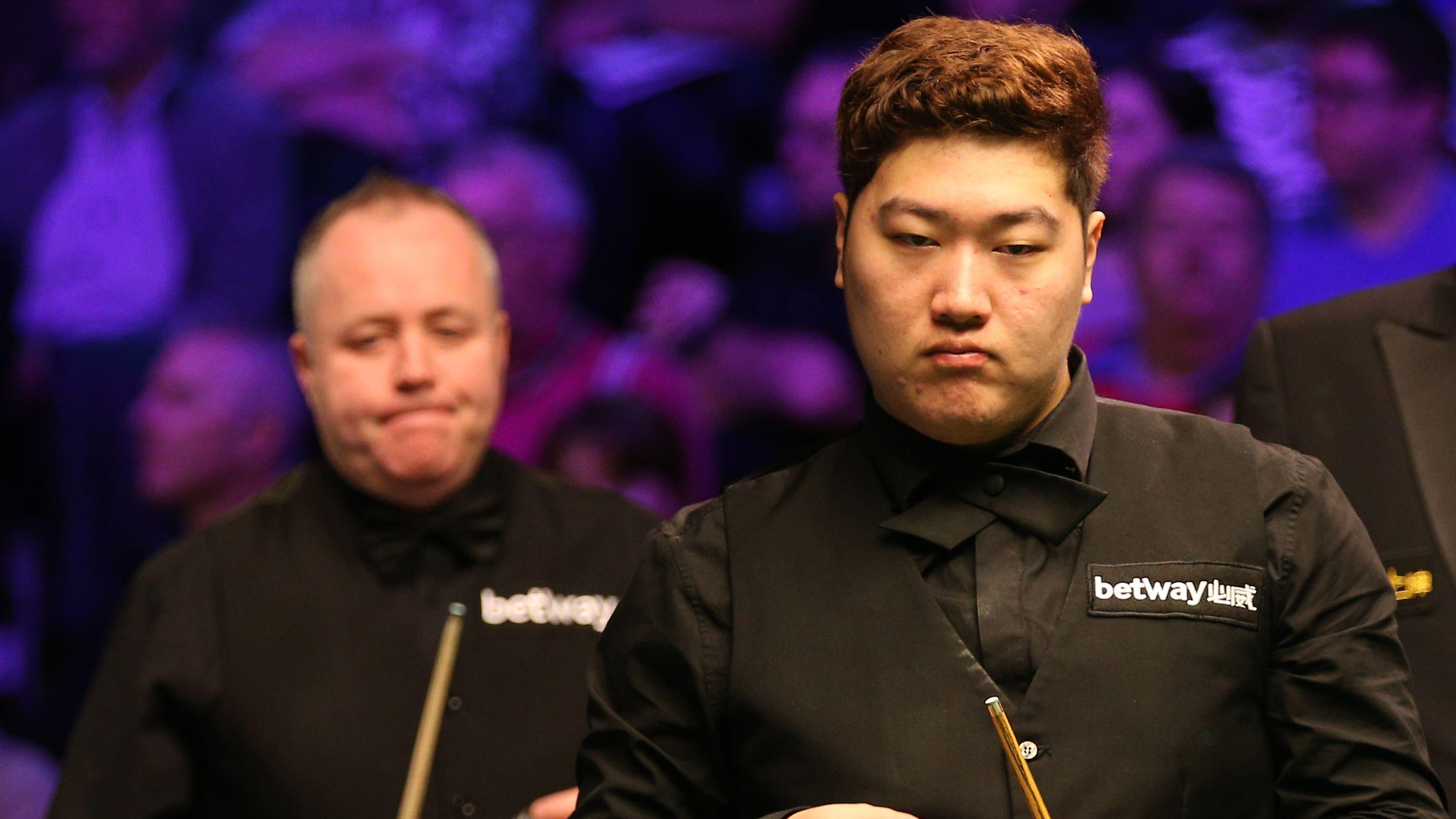 Yan Bingtao to face John Higgins in Masters final after defeating Stuart Bingham