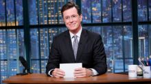 Stephen Colbert says Russian intelligence officers followed him during recent visit to country