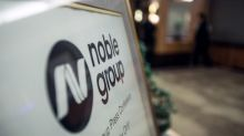 Noble shares surge as much as 38 percent on volume jump