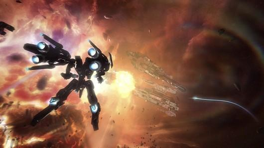 Strike Suit Zero ignores the countdown, out now for PC