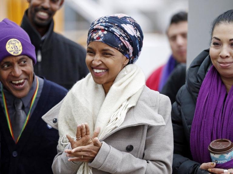 Minnesota primary: Ilhan Omar poised to become first Somali-American elected to Congress