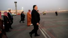 U.S. Secretary of State Pompeo lands in Ankara