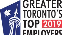 Visa Canada named to the list of 2019 Greater Toronto's Top Employers