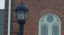 Salem mayor shares photo of eerie 'face' in street lamp