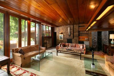 Frank Lloyd Wright's Sondern-Adler House Will Be Sold Aug. 12 by Heritage Auctions