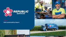 Republic Services Reports Reduced Emissions, Increased Circularity of Key Materials
