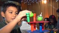 Kids test toys for Groupon holiday toy catalog, due out in November