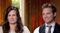 Peter Facinelli And Elizabeth Reaser Talk Filming 'The Twilight Saga: Breaking Dawn - Part I' Wedding Scene