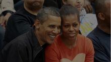 Michelle Obama's stylist pulls a Pete Souza and brilliantly trolls Melania Trump