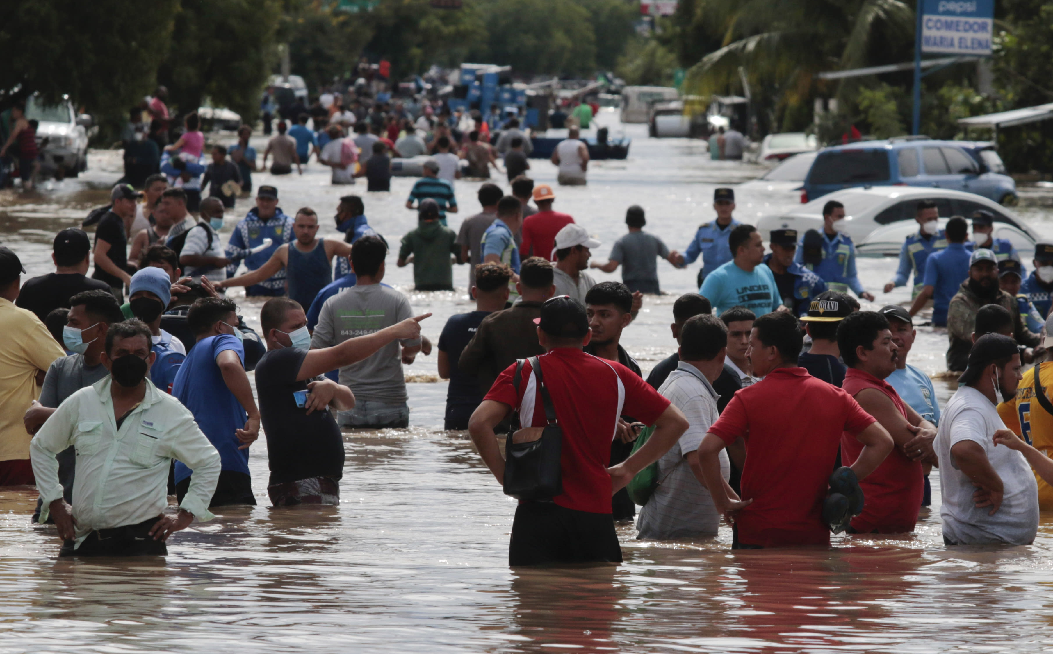 Hurricane Iota heads for battered Honduras, Nicaragua