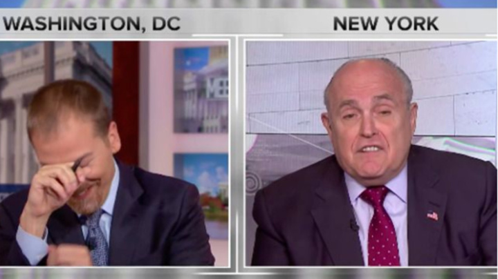Giuliani's 'truth isn't truth' claim perplexes host