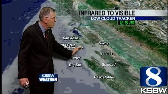 Watch your Sunday KSBW weather forecast 06.09.13