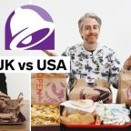 Every difference between UK and US Taco Bell including portion sizes, calories, and exclusive items