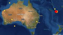 Tsunami warning issued after huge earthquake off Australian coast