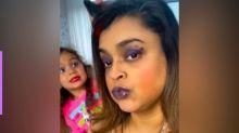 Preta Gil é maquiada pela neta, Sol de Maria