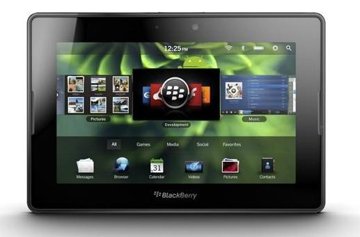 BlackBerry PlayBook FAQ confirms native email, calendar and contacts apps, just not at launch