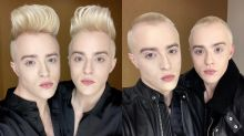 Jedward's iconic quiffs are gone after heartfelt charity stunt in honour of their mother