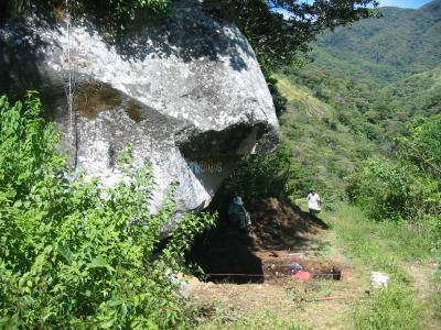 The stones were found in a rock-shelter in Panama that has been used by humans for more than 9,000 years