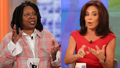 Jeanine Pirro called Whoopi Goldberg's treatment on the View 'abuse,' but was it?