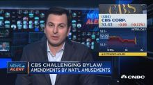 CBS challenges bylaw amendments by National Amusements