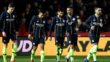 FA Cup: Manchester City strolls to victory