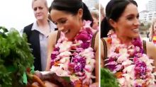 Meghan's Bondi gift: 'Hon, we got some veggies'