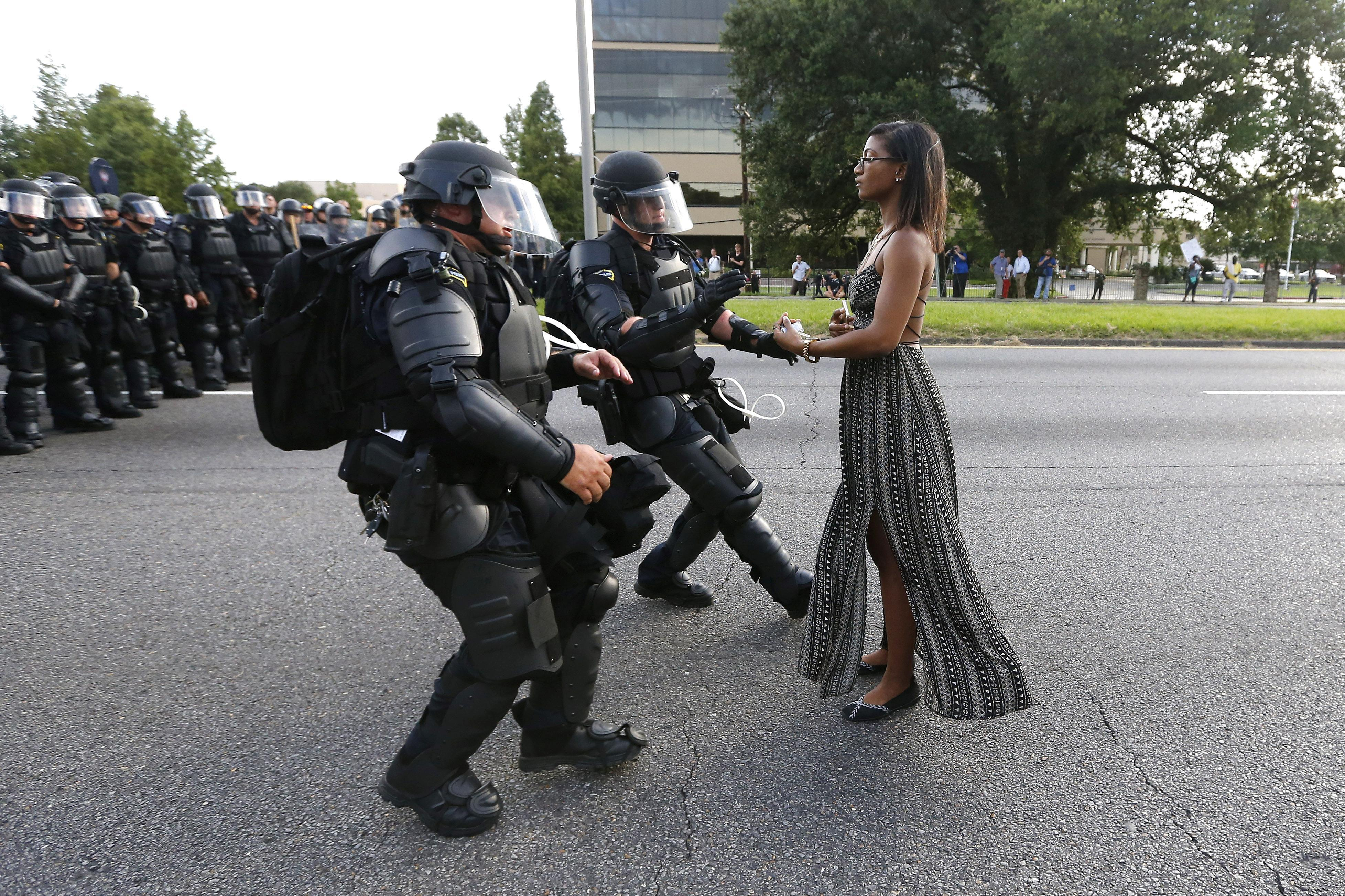 Baton Rouge Protester From Iconic Photo Identified as Ieshia Evans