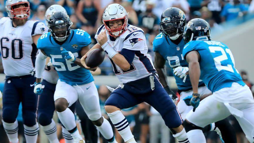 Jaguars have fallen apart since last year's win over Patriots