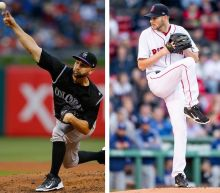 Three strikes: Chris Sale misses a record, while Rockies keep rolling Wednesday
