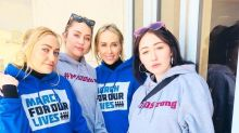 Celebrities Take To The Streets, Social Media For March For Our Lives