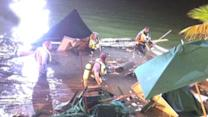 Dozens injured after Miami sports bar deck collapses