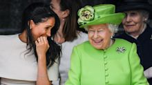 Meghan Markle Had to Learn How to Curtsy Last Minute Before Meeting the Queen