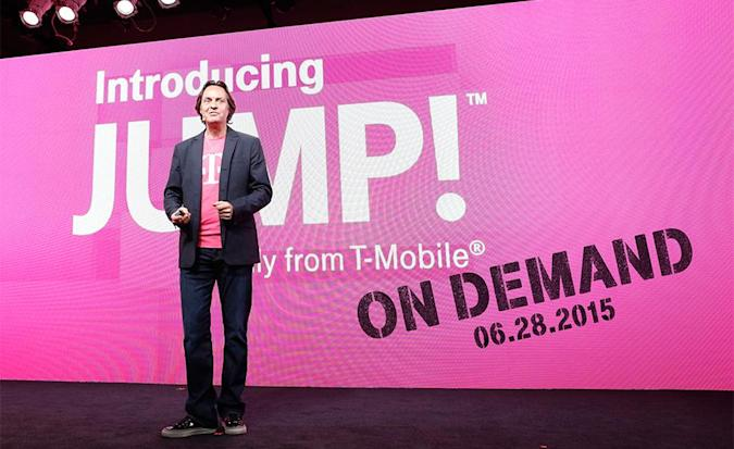 T-Mobile's new early upgrade plan lets you swap phones even more