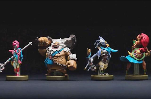 Nintendo is releasing amiibo for a 'Legend of Zelda' add-on