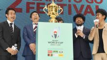 Rugby World Cup ceremony: two years to go