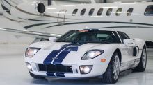 Ford GT supercar with just 10 miles on the clock is up for sale