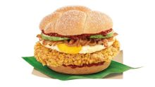 Get your nasi lemak fix with McDonald's Nasi Lemak Burger