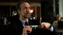 People spat at Alan Rickman after he played Hans Gruber in 'Die Hard'