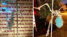 'Offensive': X-rated Halloween display sparks furore