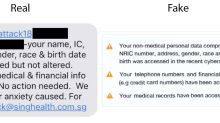 SingHealth debunks fake SMS about cyber attack
