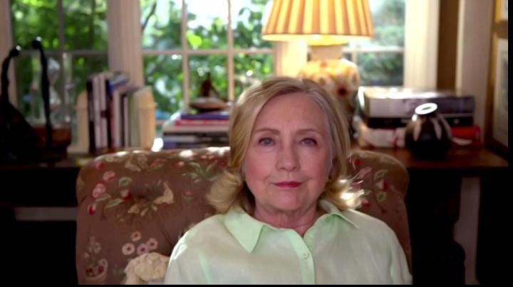 Clinton warns about media coverage of Kamala Harris