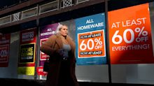 Shop prices fall further amid weak consumer demand