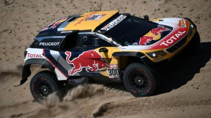 Champion Peterhansel closes gap to leader Sainz