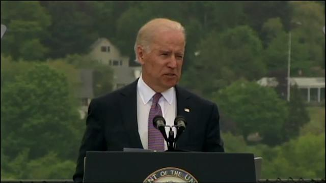 Vice President Biden Addresses Coast Guard Graduates