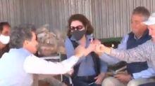 Orden de desalojo: así fue el festejo de la familia Etchevehere con Patricia Bullrich