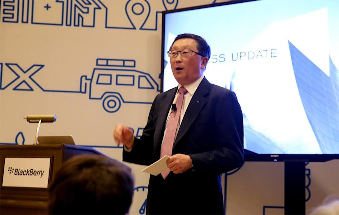 BlackBerry is building software to help power self-driving cars