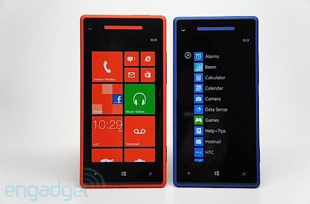 HTC Windows Phone 8X for Verizon: what's different?