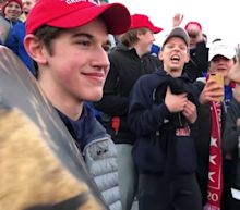 Trump keeps fueling story of Kentucky students' confrontation with Native American