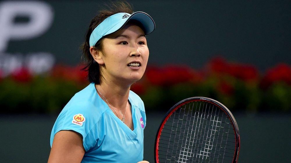 Peng ends Diyas' run in Zhengzhou