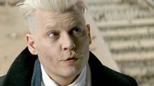 Johnny Depp Surprises Comic-Con in Full 'Fantastic Beasts' Character